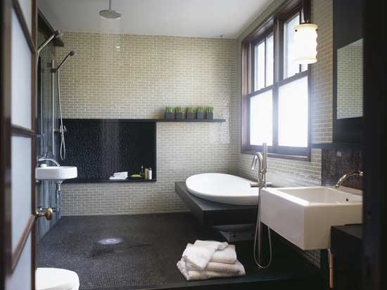 bathroom tubs showers jennifer gilmer - Minimalist Bathroom Design