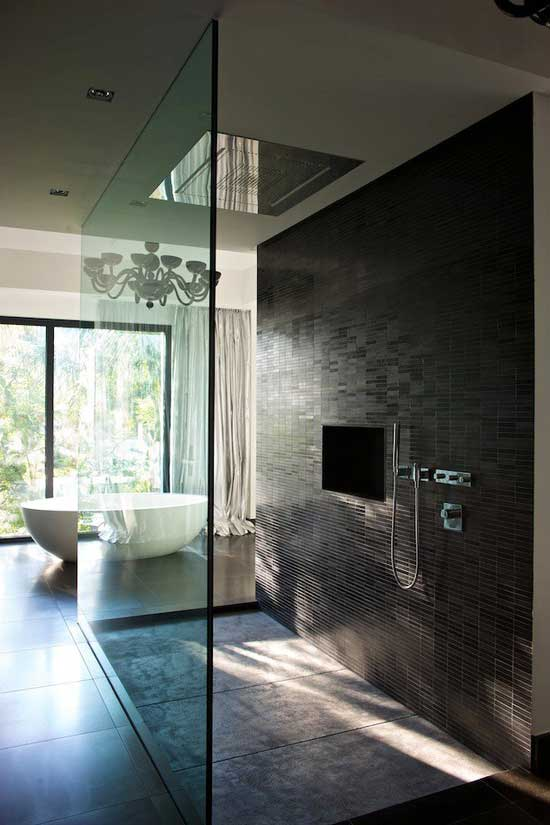 glass bathroom design - Minimalist Bathroom Design