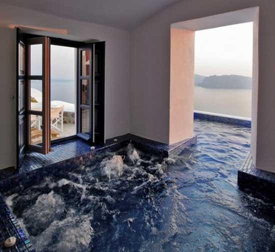 Indoor Outdoor Hot Tub