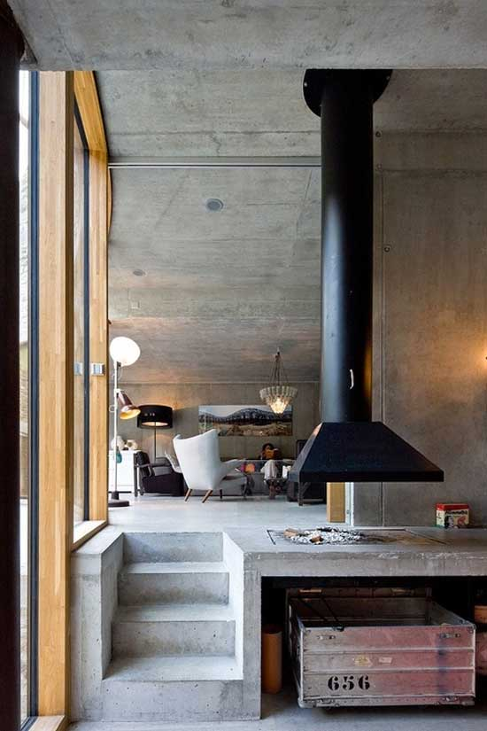 Interior minimal kitchen design