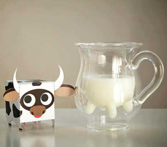 cow bowl for milk