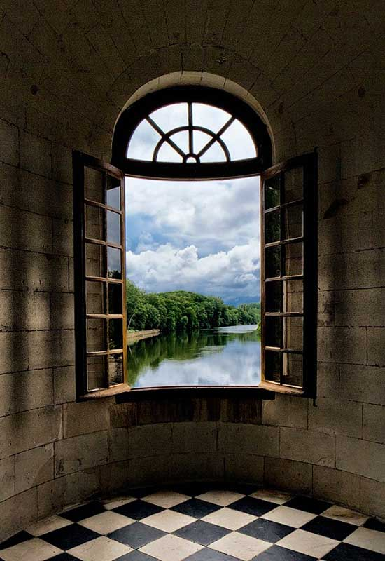 interior design window view
