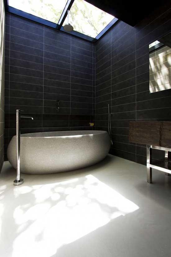 Minimal Bathroom Shower Design