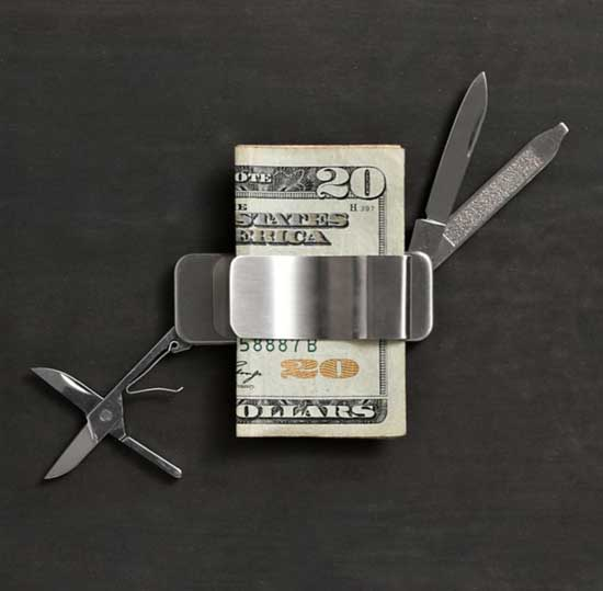 money clip creative design