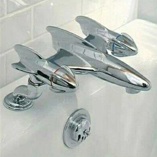wingtip bathroom faucet
