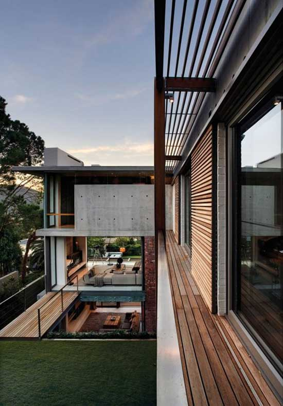 minimal outdoor design wood home architecture