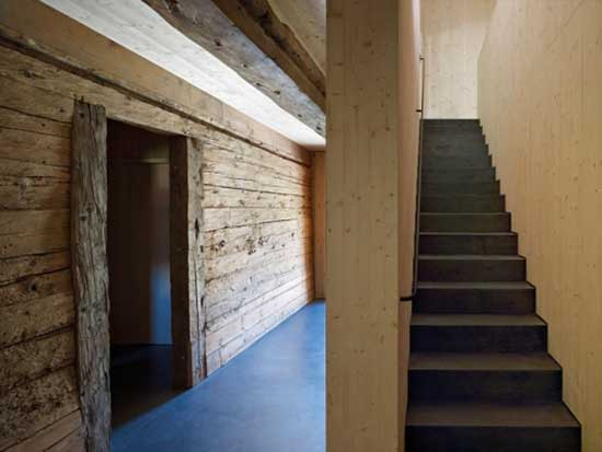 wood home minimal interior design