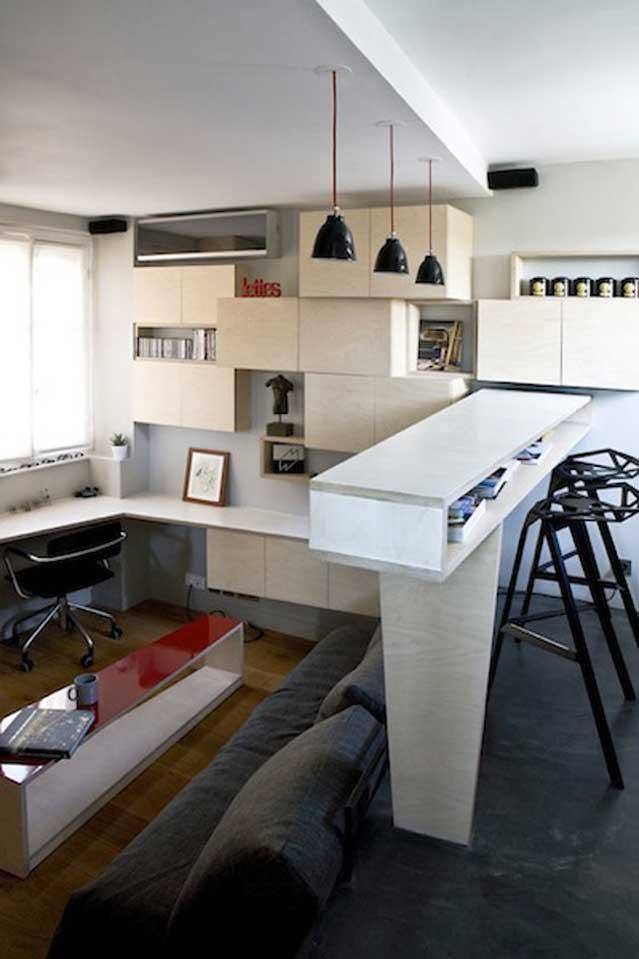Micro Apartment in Paris