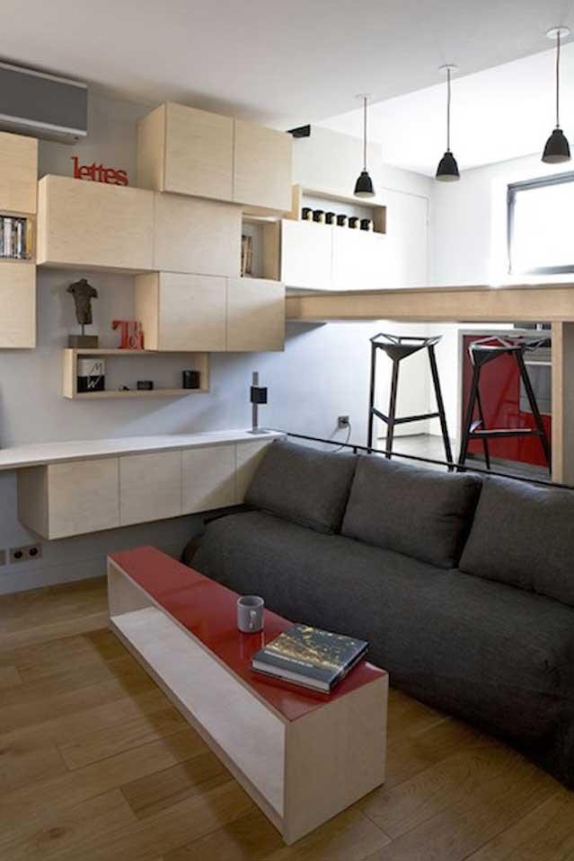 130 Square Foot Micro Apartment In Paris Big Tricks A