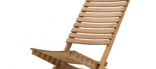 DANIA FOLDING TEAK BEACH CHAIR | BY SKAGERAK