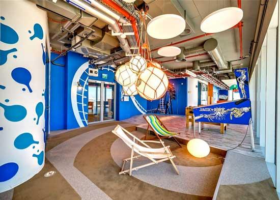 Google Tel Aviv Game Room