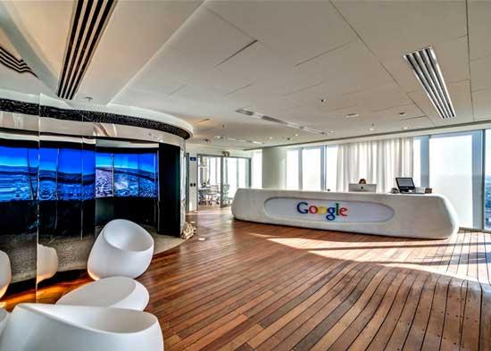 google office tel aviv 21. google tel aviv reception office 21