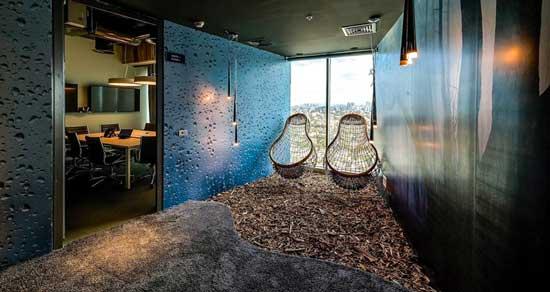 Google Tel Aviv Hanging Chairs