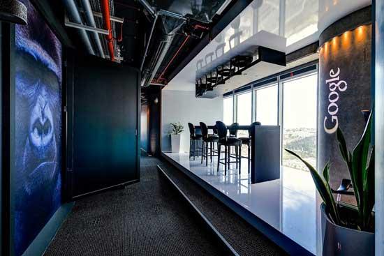 Google Tel Aviv Table Chairs