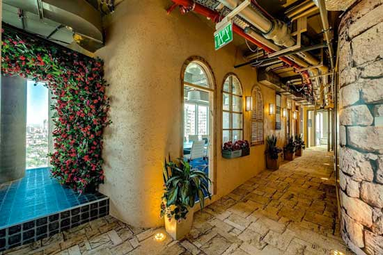 Google Tel Aviv Camenzind Evolution Hallway