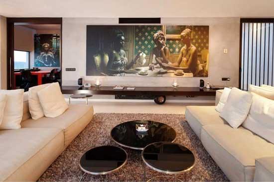 Ibiza Casa Del Art Villa Living Room 3