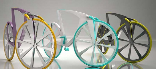 Levitation – Concept Bike by DEzien – Bike with Charging Capabilities