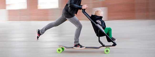 longboard stroller ultimate stroller for 39 cool parents 39