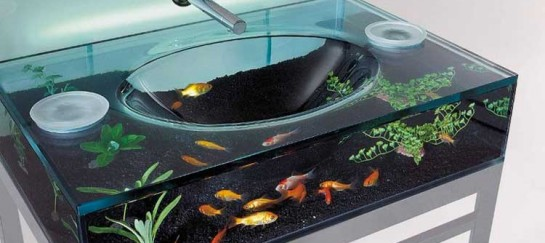 MOODY AQUARIUM SINK | BY ITALBRASS