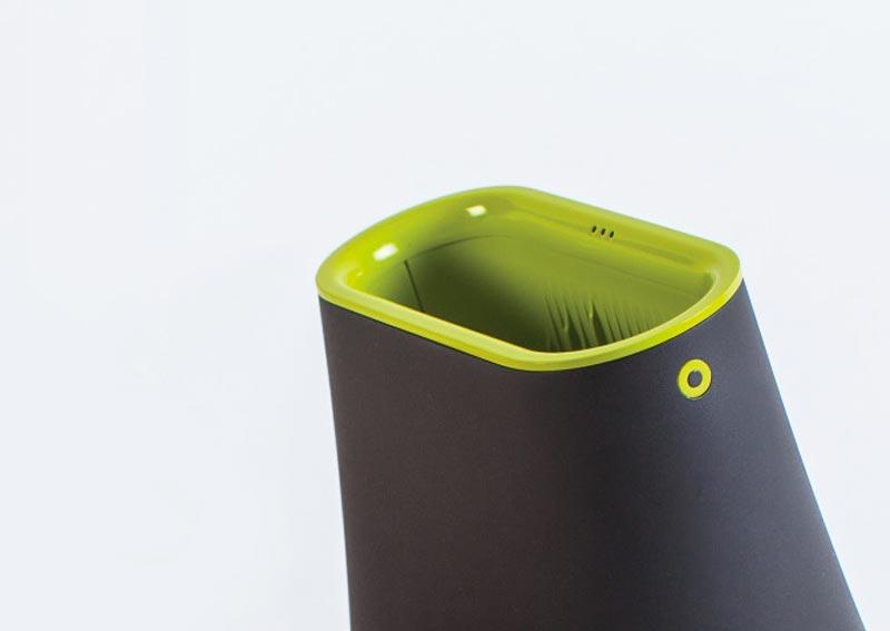 RAFL Wireless Speaker Side top view