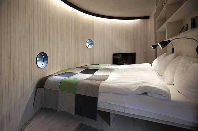 Treehotel Sweden Bird's Nest Interior