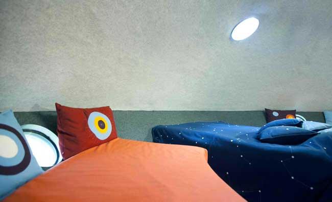 Treehotel Sweden UFO Interior