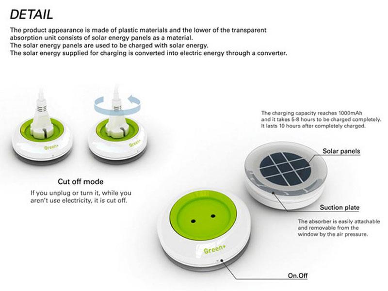 Instructions Window Socket Solar powered by Kyuho