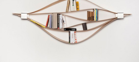 CHUCK FLEXIBLE WOODEN BOOKSHELF | BY HAFRIKO