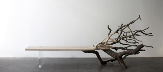 'Fallen Tree' Bench By Benjamin Graindorge