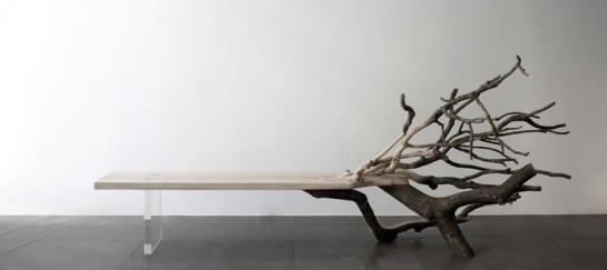 'Fallen Tree' Bench By Benjamin Graindorge