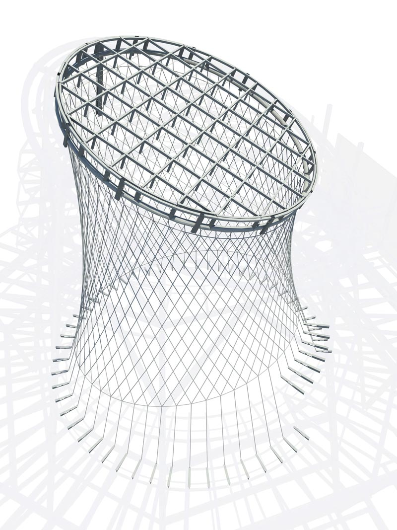 blueprint of the Fulton Center Project