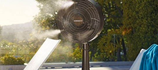 HOSELESS PORTABLE DRY MIST FAN | BY AURAMIST
