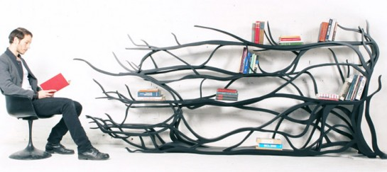 Metamorphosis Bookshelf by Sebastian Errazuriz
