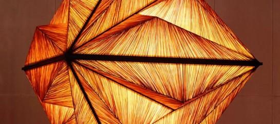 Pyramid Lighting Sculpture by Aqua Creations