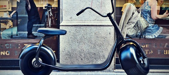 SCROOSER | Push Electric Scooter by SCROOSER Manufactory (VIDEO)