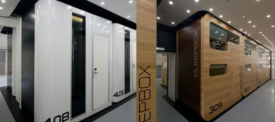 SLEEPBOX MOBILE HOTEL ON TVERSKAYA | BY ARCH GROUP