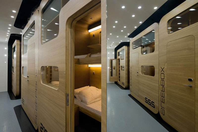 Sleepbox Mobile Hotel On Tverskaya By Arch Group