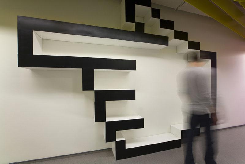 Hallway in Yandex St. Petersburg Offices