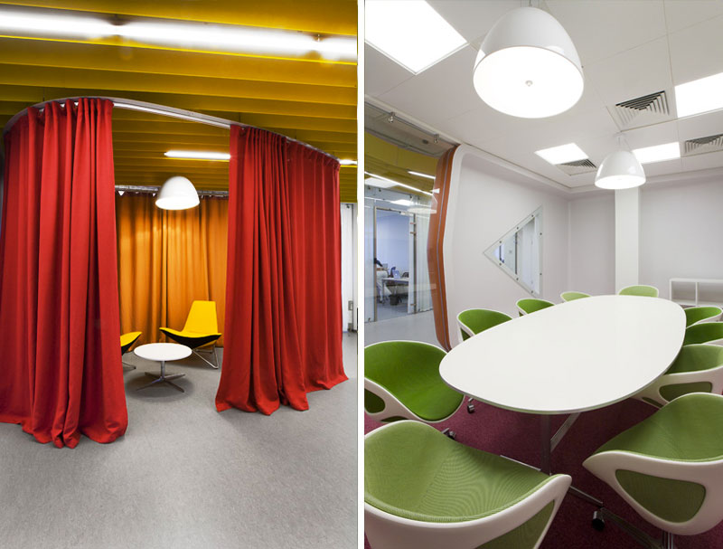 Conference rooms in Yandex St. Petersburg Offices