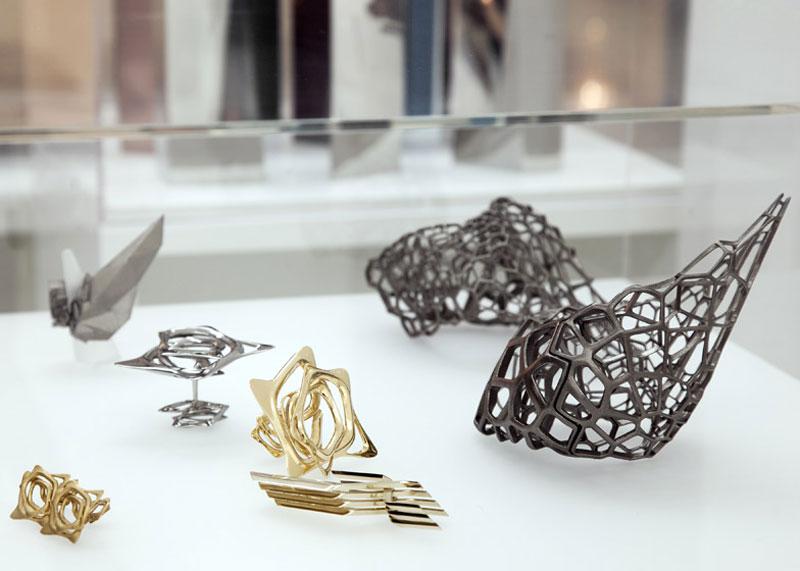 jewelry in Zaha Hadid London Design Gallery