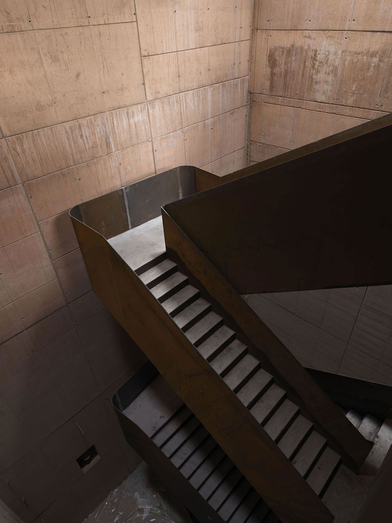 Stairs at the Antinori Winery by Archea Associati
