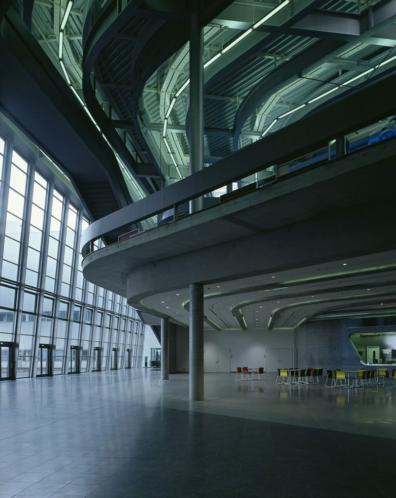 Bmw Central Building In Leipzig Germany By Zaha Hadid