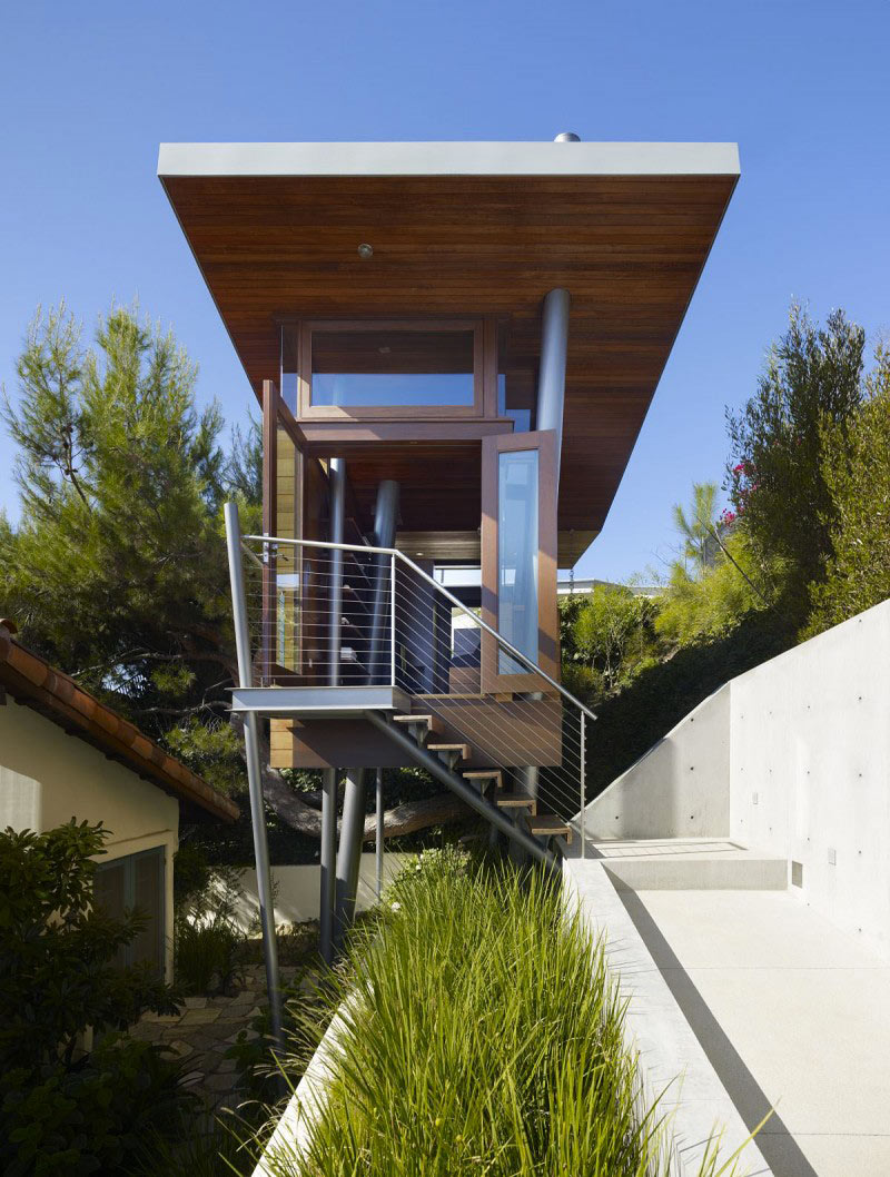 Front view of The Banyan Treehouse by Rockefeller Partners Architects