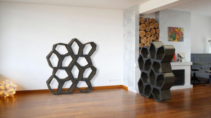 Black BUILD Modular Shelving by Movisi