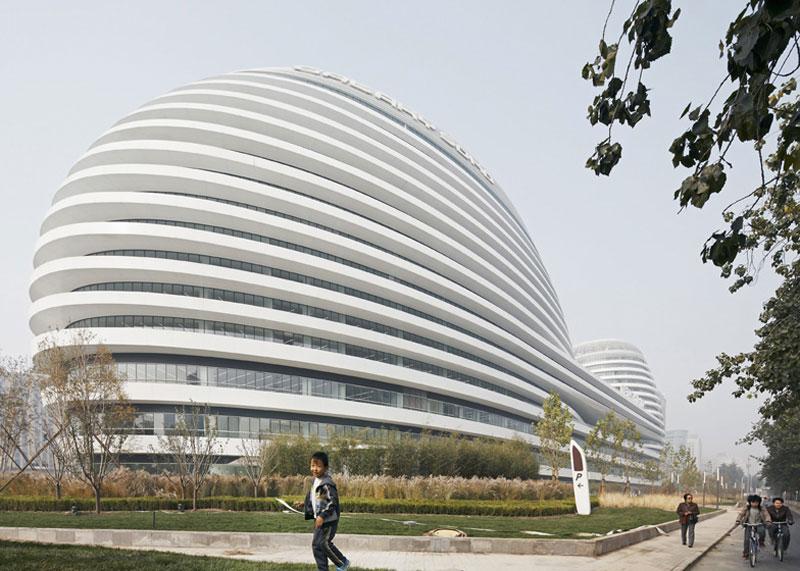 Galaxy Soho Complex In Beijing By Zaha Hadid Video