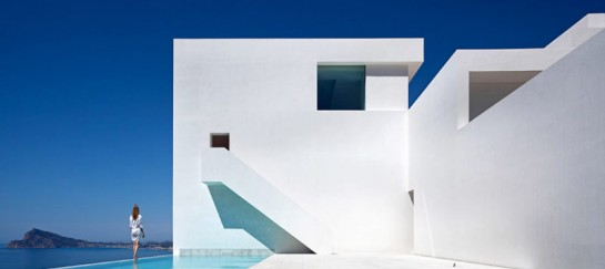 HOUSE ON THE CLIFF IN SPAIN | BY FRAN SILVESTRE ARQUITECTOS