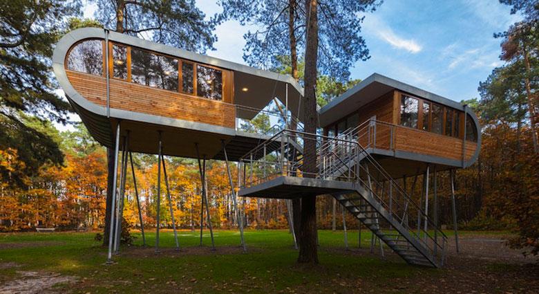 Baumraum S Treehouse Retreat In Belgium