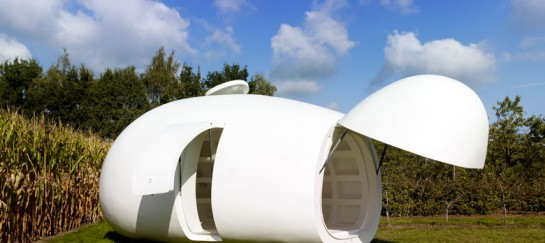 blob VB3 Mobile Living Pod by dmvA Architects