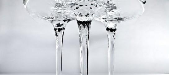 Liquid Glacial Coffee Table by Zaha Hadid