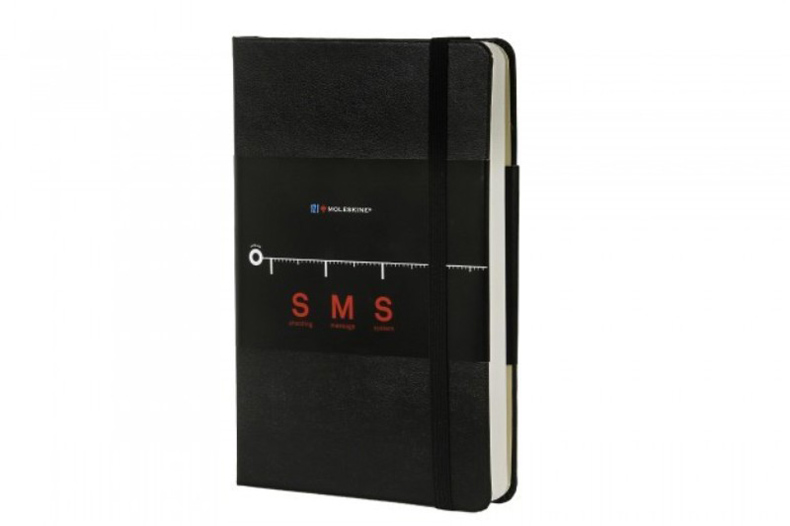 Moleskine Shooting Message System SMS Notebook